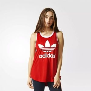 Adidas Originals AA-42 Red Tank - M